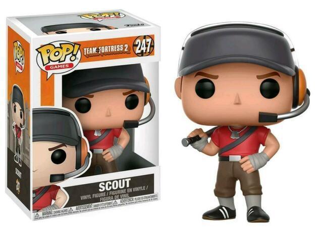 Pop Funko Team Fortress Scout TF