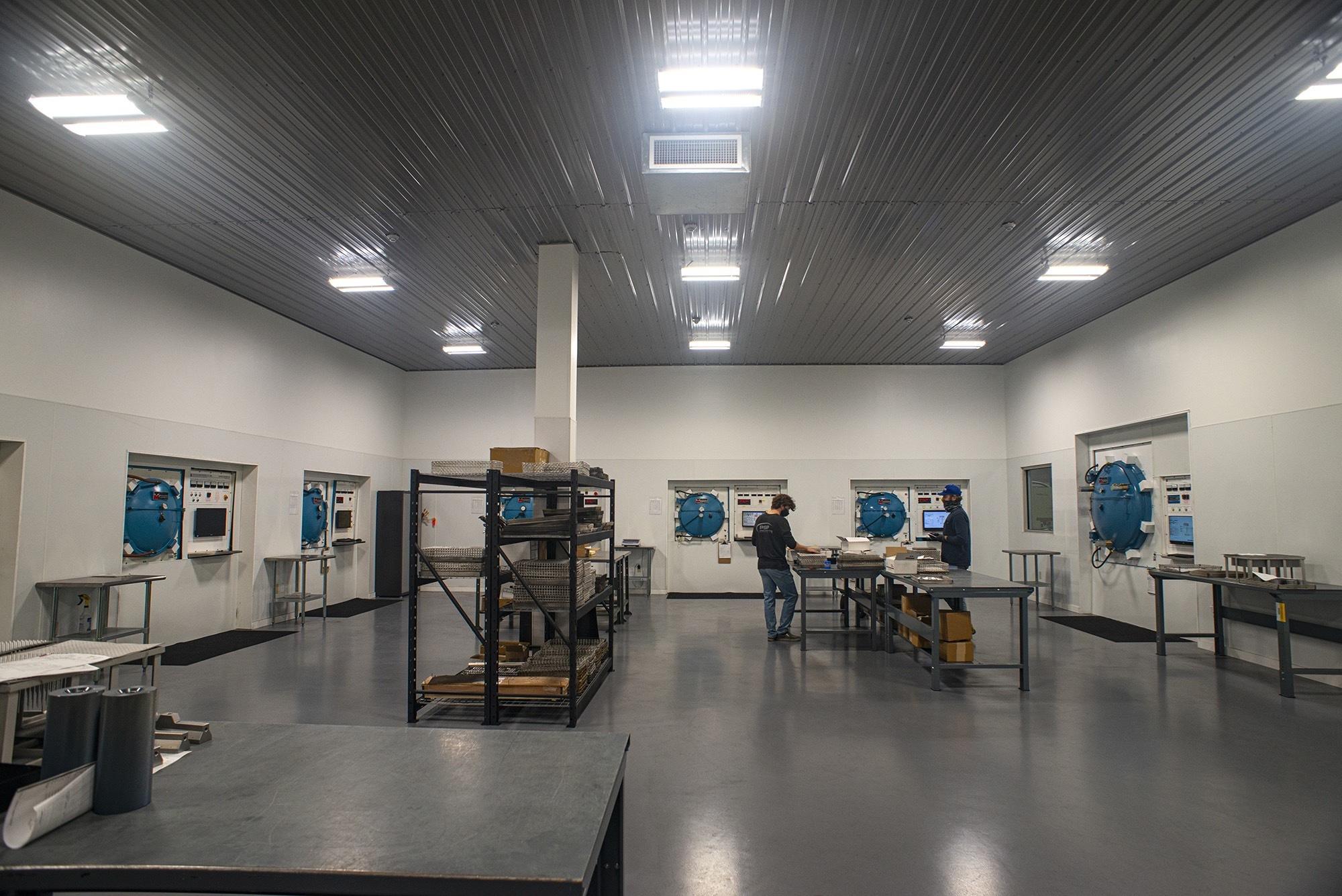 Clean Processing Room Interior