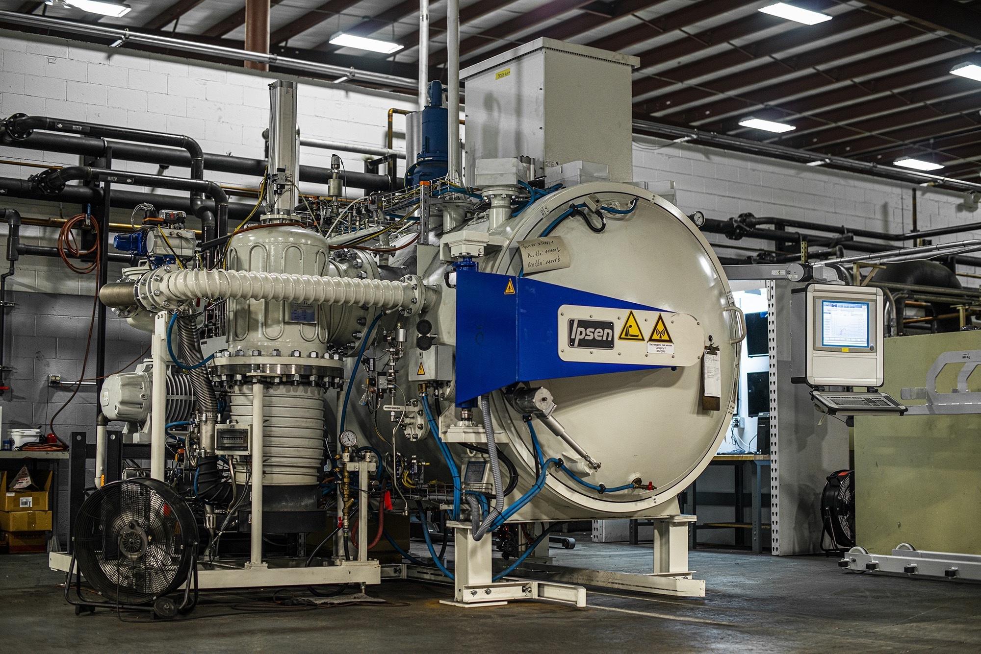 Vacu Braze machinery image