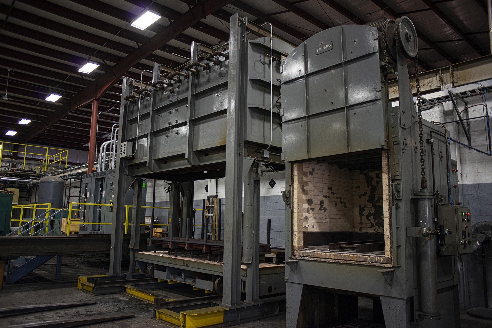 Close up of furnace