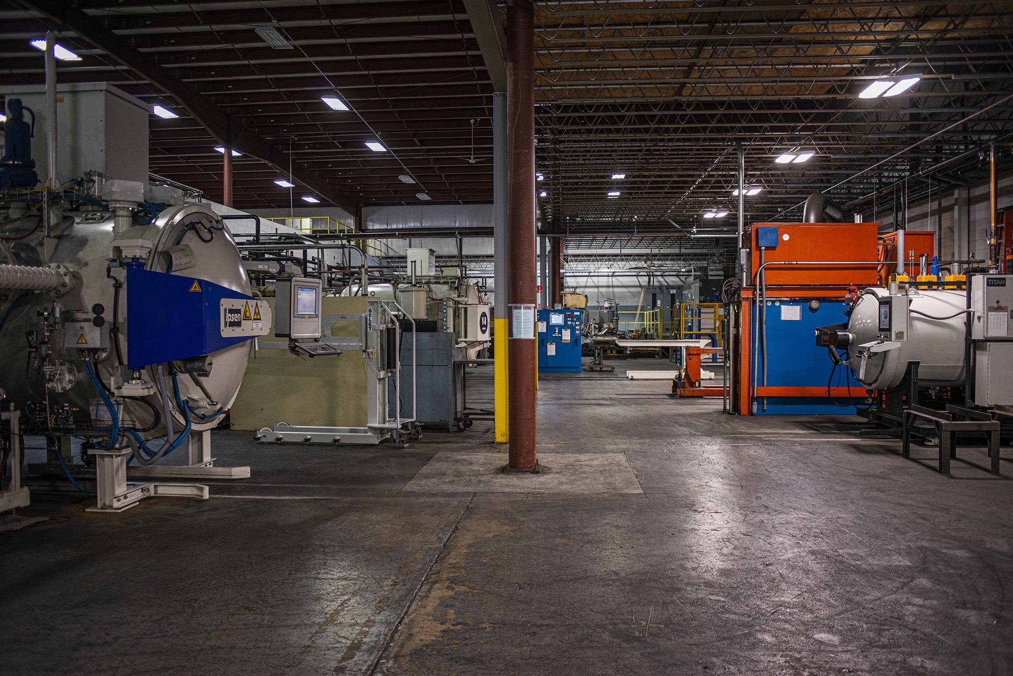 Vacu Braze expanded facility