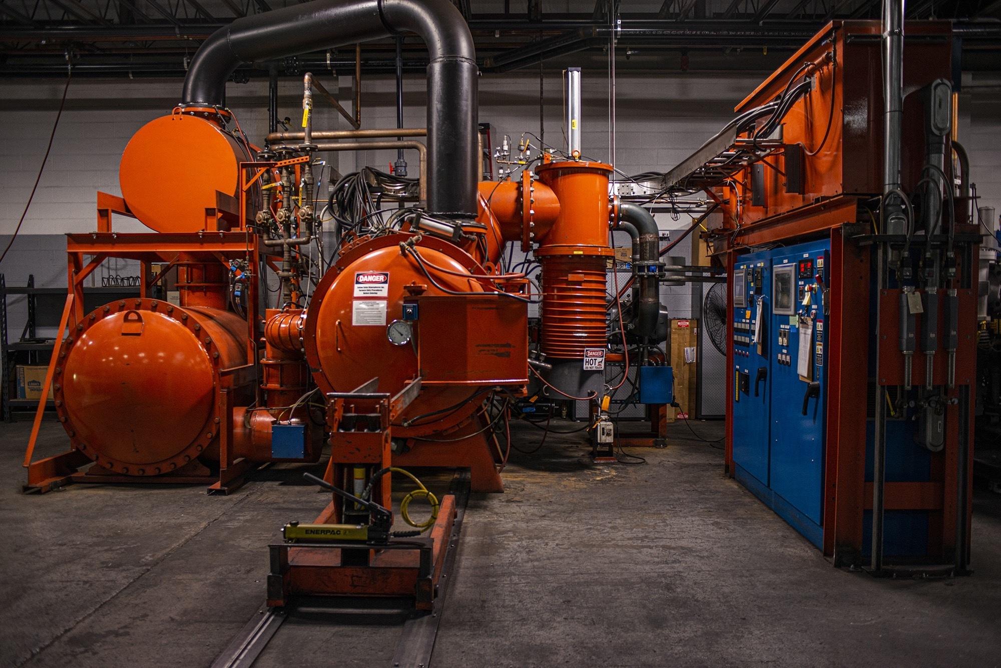 Vacu Braze facility displays furnace