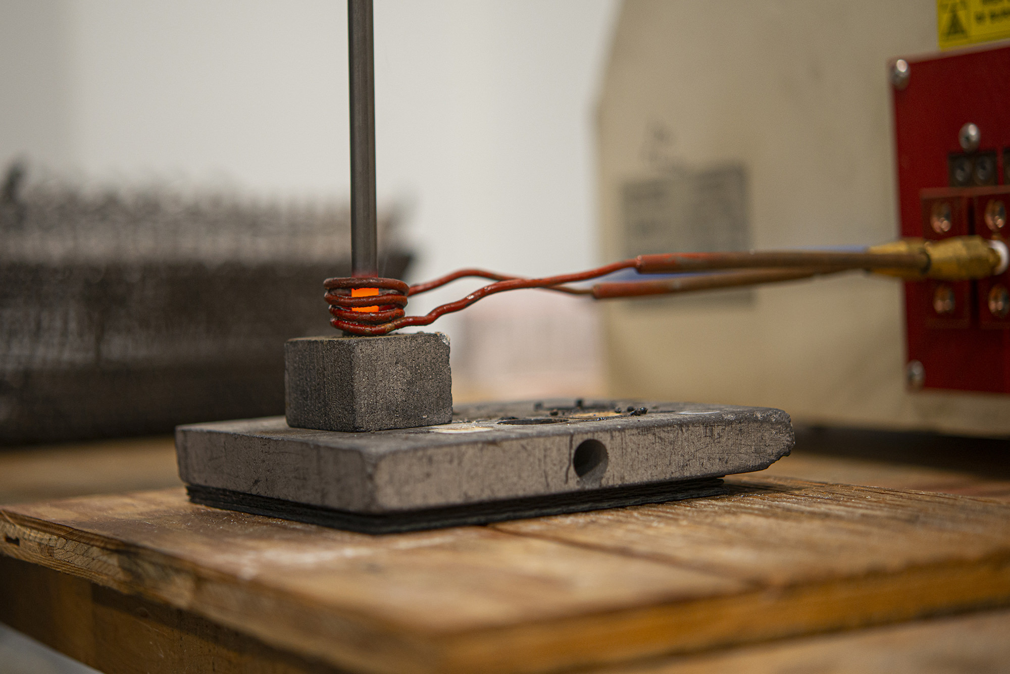 Induction brazing on display