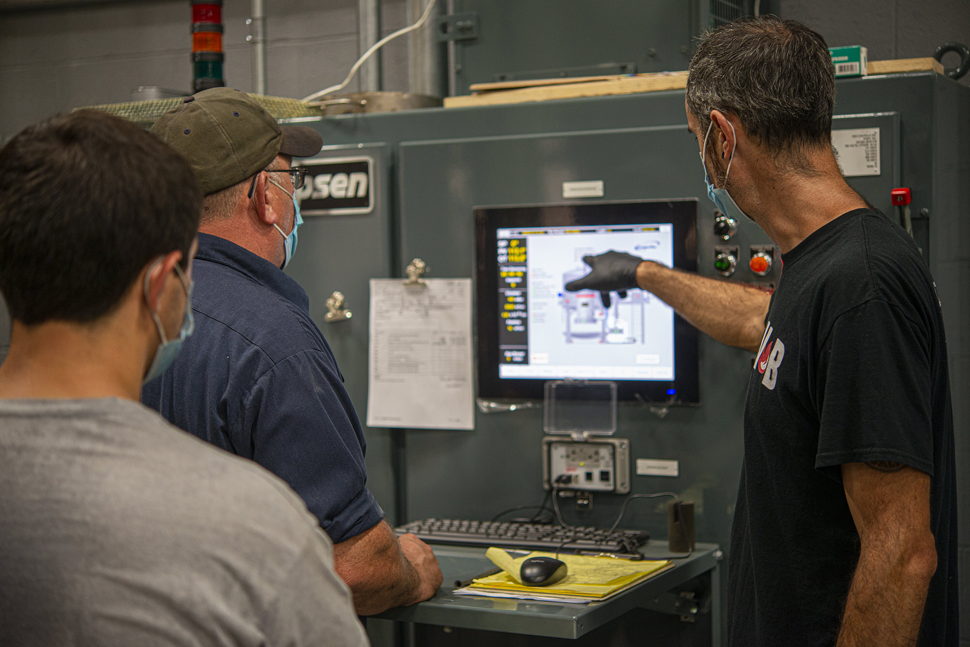 Vacu Braze team collaborates on heat treatment techniques
