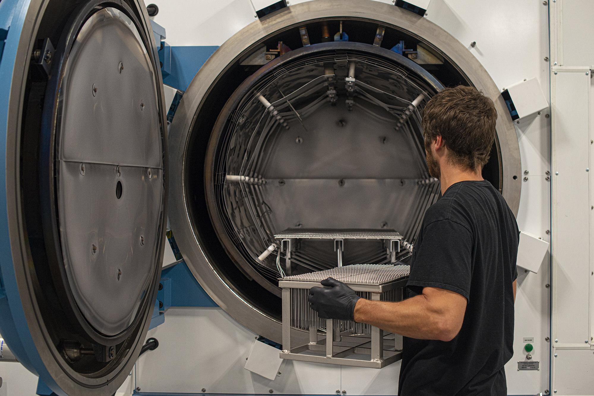 Vacu Braze Team Clean Processing