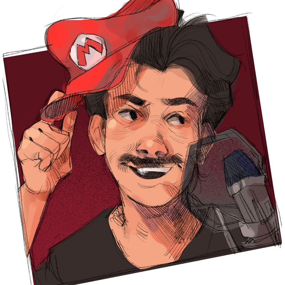 Abdullah is a voice over actor