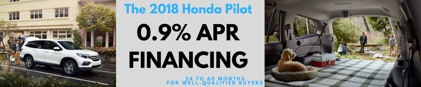 2018 Honda Pilot Current Offer