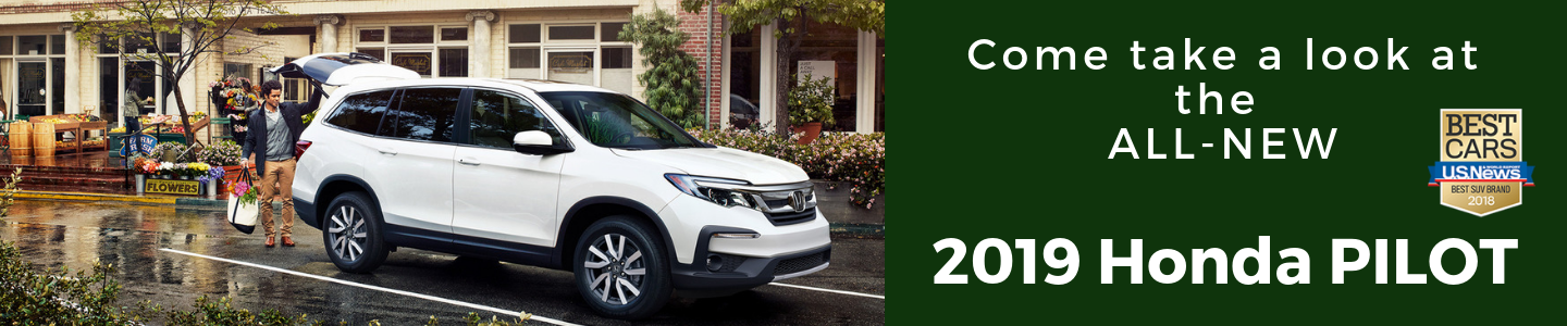 All New 2019 Honda Pilot