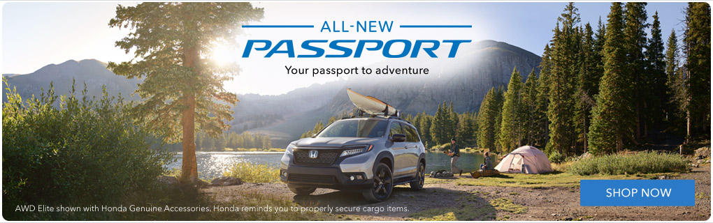 All New 2019 Honda Passport