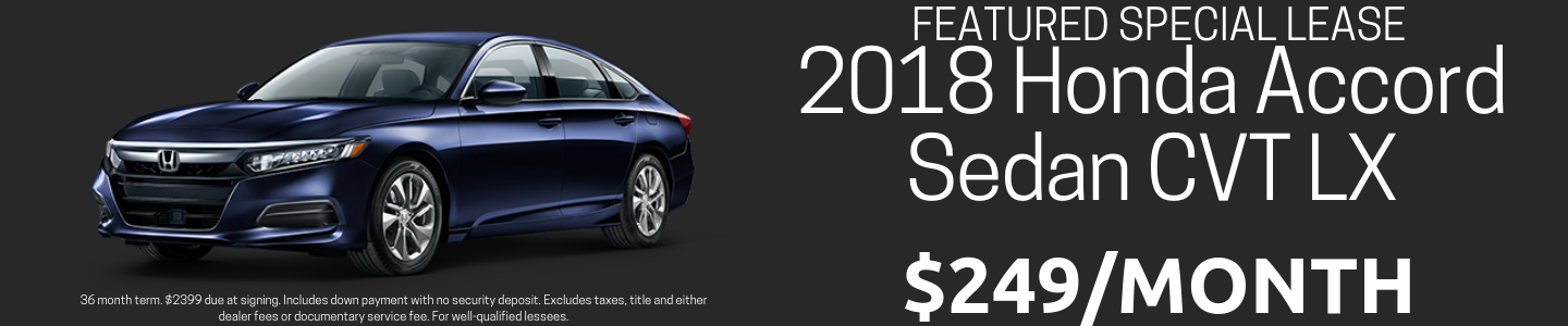 Accord Lease Special