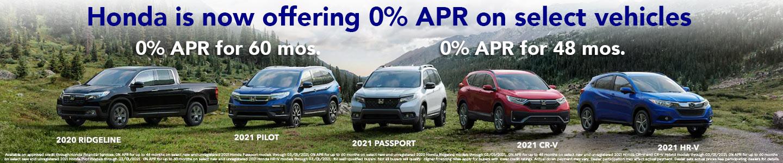 0% APR offer