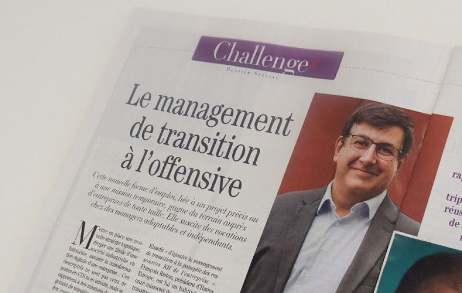 Article Challenges - Actualités - Valtus Management de transition