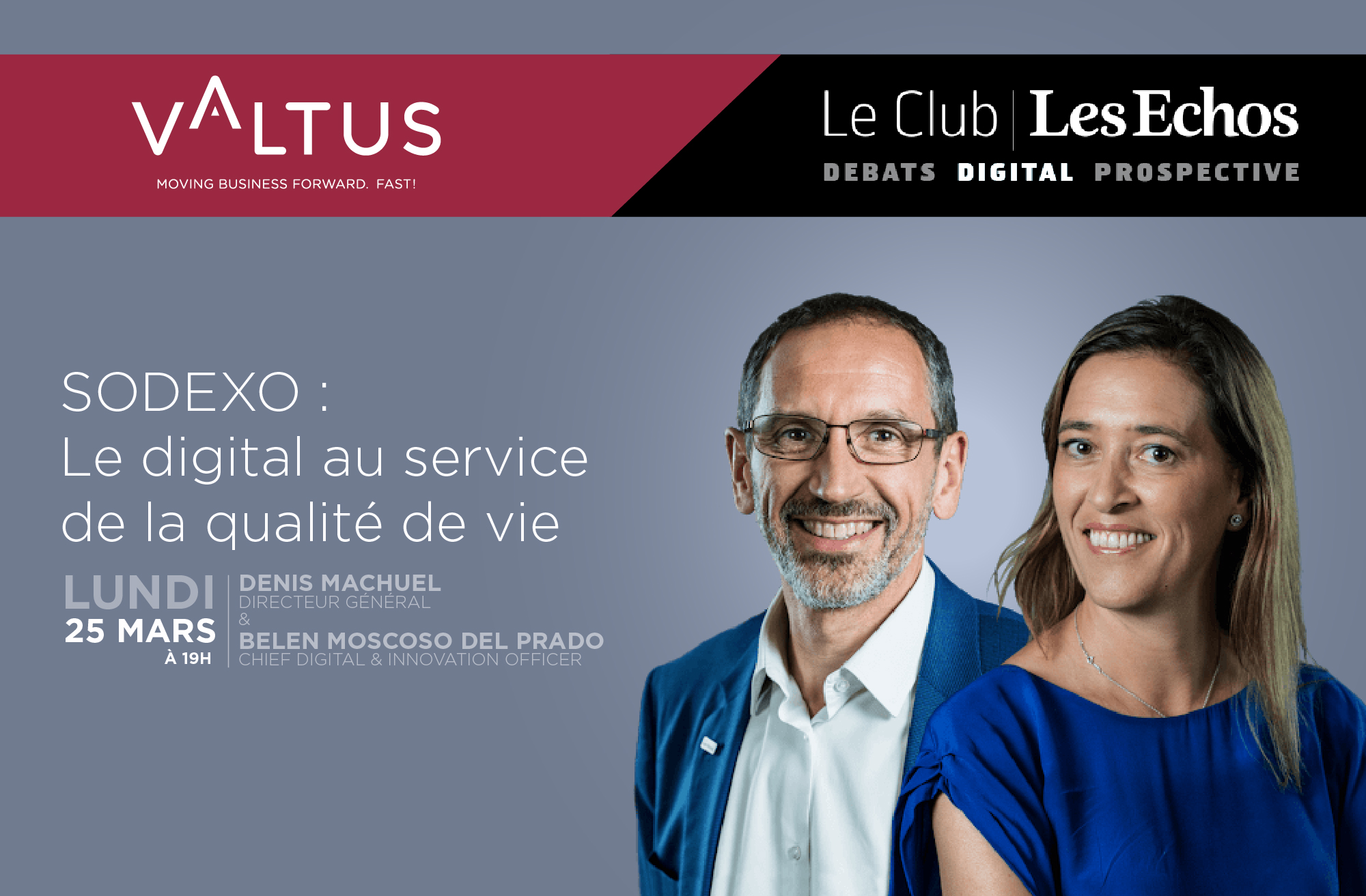 Club Les Echos Digital Sodexo - Valtus Management de transition