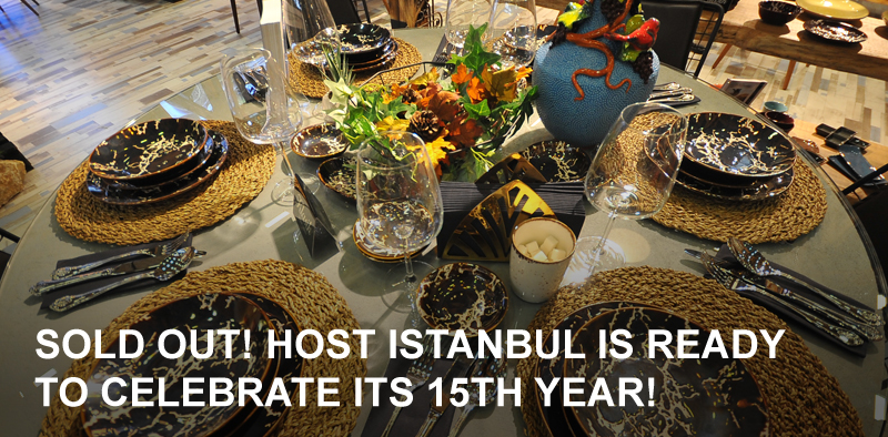 HOST Istanbul peaked with 180 exhibitors thanks to the great interest from the industry!