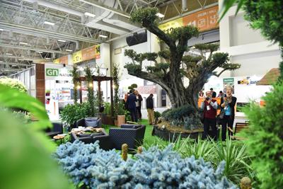 Süs bitkileri ve peyzaj sektörünün lideri pek çok firma The Flower and Plant Show'da yerini aldı