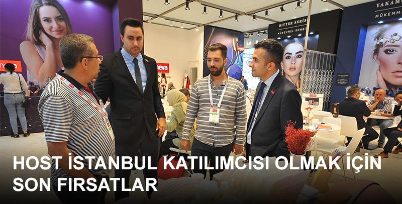 Yurt içi ve yurt dışından binlerce satın almacı bekleyen HOST İstanbul katılımcısı olmak için son fırsatlar!