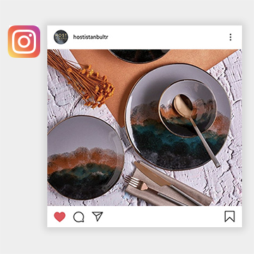 Follow us on social media, and see thousands of beautifully designed products to inspire your buying.