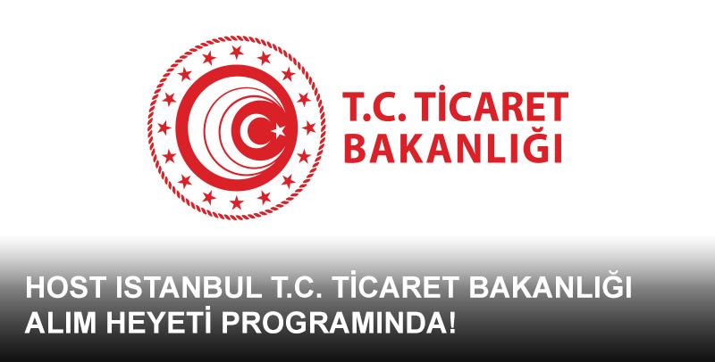 Yurt dışı satın almacılarınızı program kapsamında HOST Istanbul'a davet edebilirsiniz!