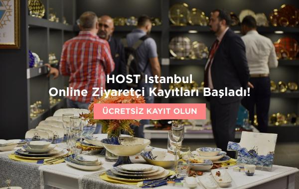 HOST Istanbul 25-28 Mart 2021'de Tüyap İstanbul'da sektör profesyonellerini ağırlamaya hazırlanıyor!