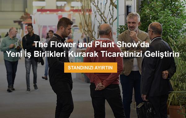 The Flower and Plant Show, 11-13 Kasım 2021'de Tüyap'ta kapılarını açıyor