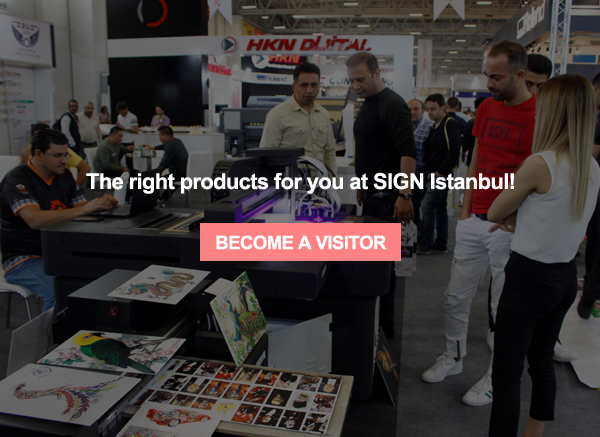 SIGN Istanbul takes place at TUYAP between September 9-12, 2021.