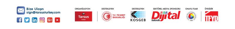 SIGN İstanbul, 17-20 Eylül 2020'de 22'nci kez kapılarını açacak.