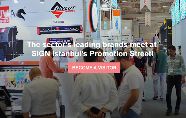 SIGN Istanbul at Tuyap between September 9th and 12th!