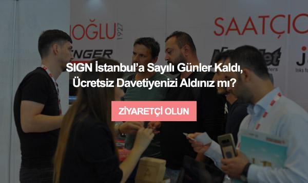 SIGN İstanbul 9 – 12 Eylül arasında Tüyap'ta!