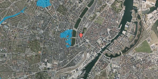 Oversvømmelsesrisiko fra vandløb på Vester Farimagsgade 19, 6. , 1606 København V