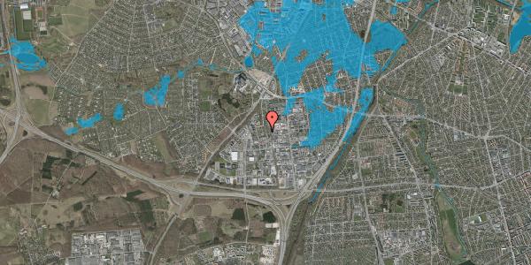 Oversvømmelsesrisiko fra vandløb på Ydergrænsen 55, 2600 Glostrup