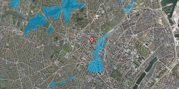 Oversvømmelsesrisiko fra vandløb på Brofogedvej 12A, 2400 København NV