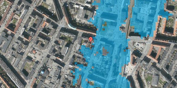Oversvømmelsesrisiko fra vandløb på Frederikssundsvej 13C, 1. , 2400 København NV