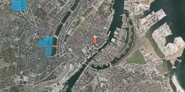Oversvømmelsesrisiko fra vandløb på Holmens Kanal 20, 1060 København K