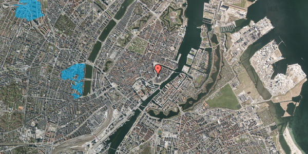 Oversvømmelsesrisiko fra vandløb på Holmens Kanal 14, 1060 København K
