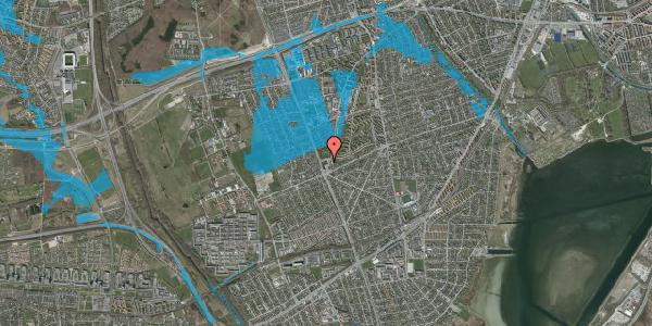 Oversvømmelsesrisiko fra vandløb på Arnold Nielsens Boulevard 132, st. , 2650 Hvidovre