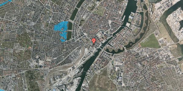 Oversvømmelsesrisiko fra vandløb på Niels Brocks Gade 7, 4. , 1574 København V