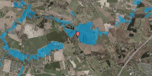 Oversvømmelsesrisiko fra vandløb på Solager 100, 2630 Taastrup