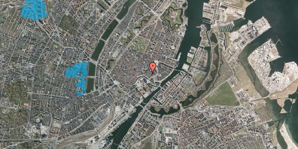 Oversvømmelsesrisiko fra vandløb på Dybensgade 19, 1. , 1071 København K