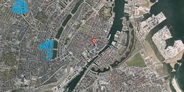 Oversvømmelsesrisiko fra vandløb på Vingårdstræde 13, 1. , 1070 København K
