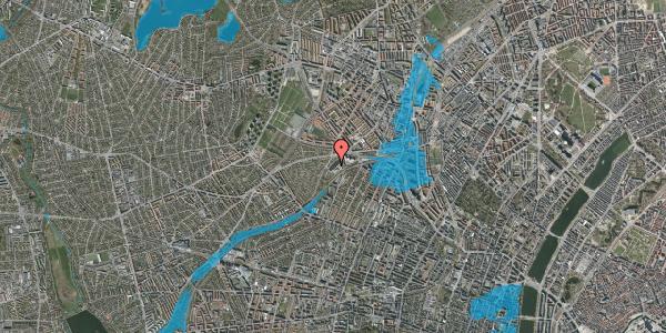 Oversvømmelsesrisiko fra vandløb på Jordbærvej 101, 1. , 2400 København NV
