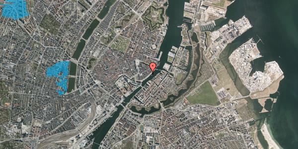 Oversvømmelsesrisiko fra vandløb på Havnegade 41, kl. th, 1058 København K
