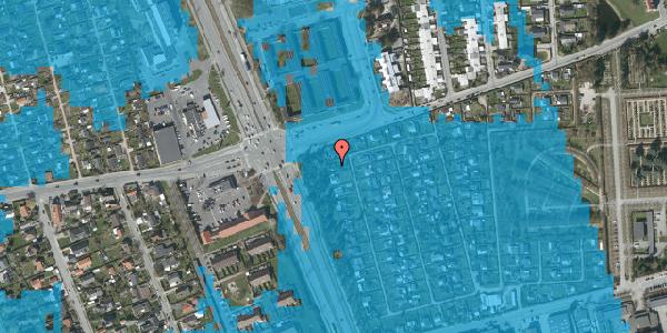 Oversvømmelsesrisiko fra vandløb på Hf. Svarø 39, 2650 Hvidovre