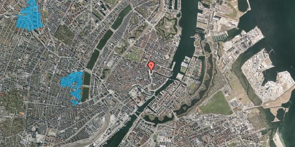 Oversvømmelsesrisiko fra vandløb på Østergade 4, st. , 1100 København K