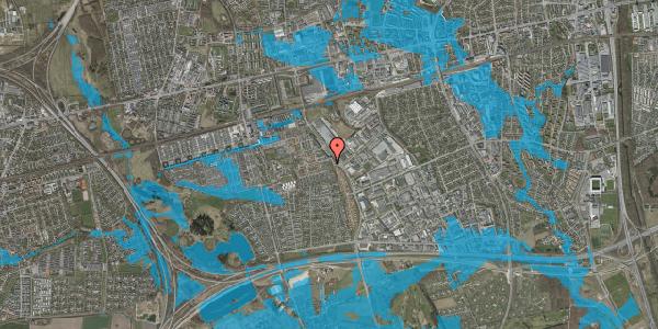 Oversvømmelsesrisiko fra vandløb på Hyrdeengen 51B, 2625 Vallensbæk