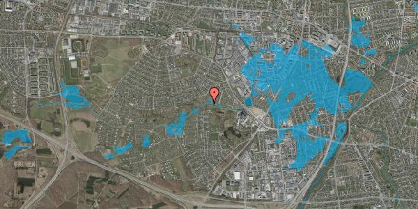 Oversvømmelsesrisiko fra vandløb på Ejbydalsvej 279, 2600 Glostrup
