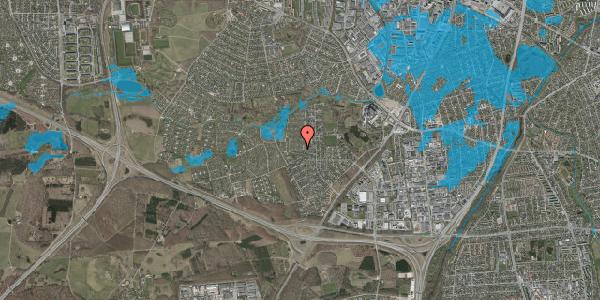 Oversvømmelsesrisiko fra vandløb på Vængedalen 209, 2600 Glostrup