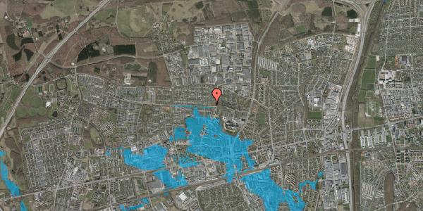Oversvømmelsesrisiko fra vandløb på Haveforeningen Hersted 24, 2600 Glostrup