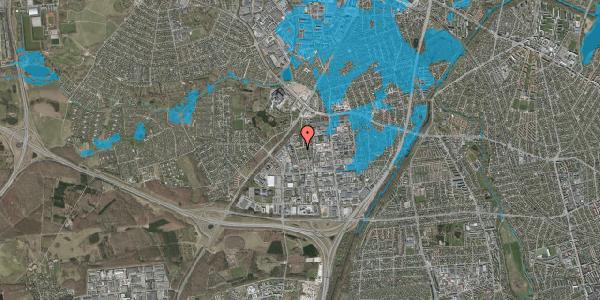 Oversvømmelsesrisiko fra vandløb på Ejbyholm 45A, 2600 Glostrup