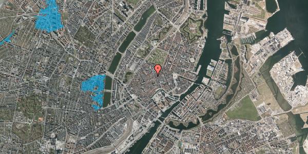 Oversvømmelsesrisiko fra vandløb på Løvstræde 2, 3. th, 1152 København K