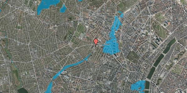 Oversvømmelsesrisiko fra vandløb på Jordbærvej 31, 2400 København NV